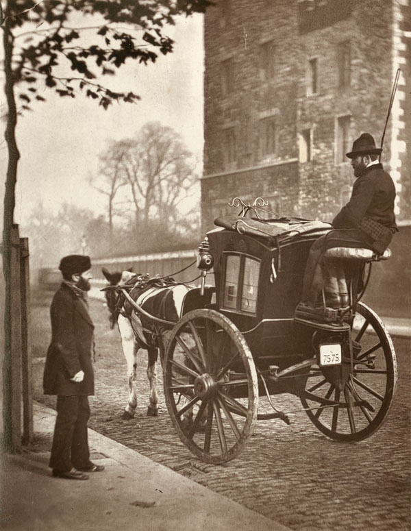 London Cabman, photograph by John Thomson, From 'Street Life in London', 1877, by John Thompson and Adolphe Smith