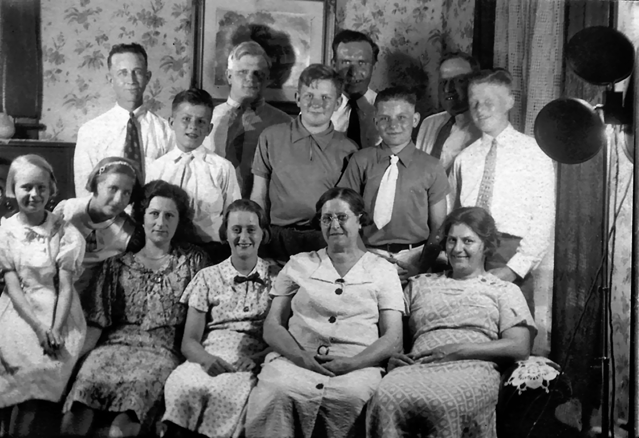 The van der Moere family of Grand Rapids, Michigan and Wissenkerke, Zeeland, The Netherlands.